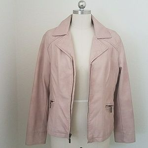 ALFANI Vegan Leather Jacket